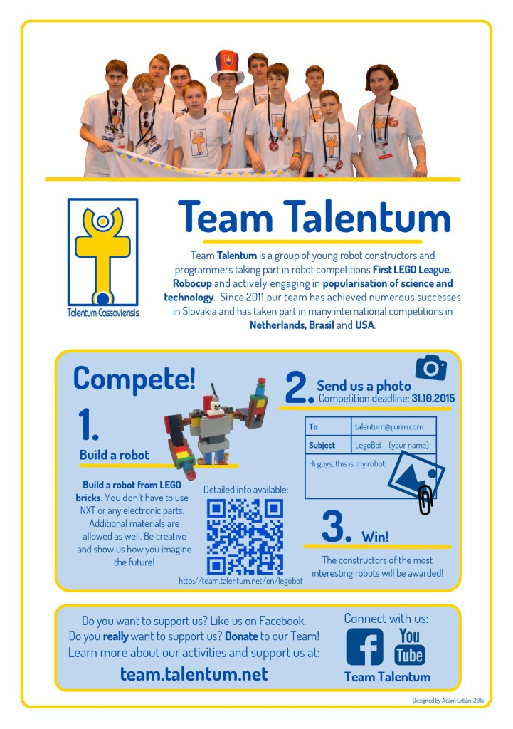 LegoBot competition leaflet